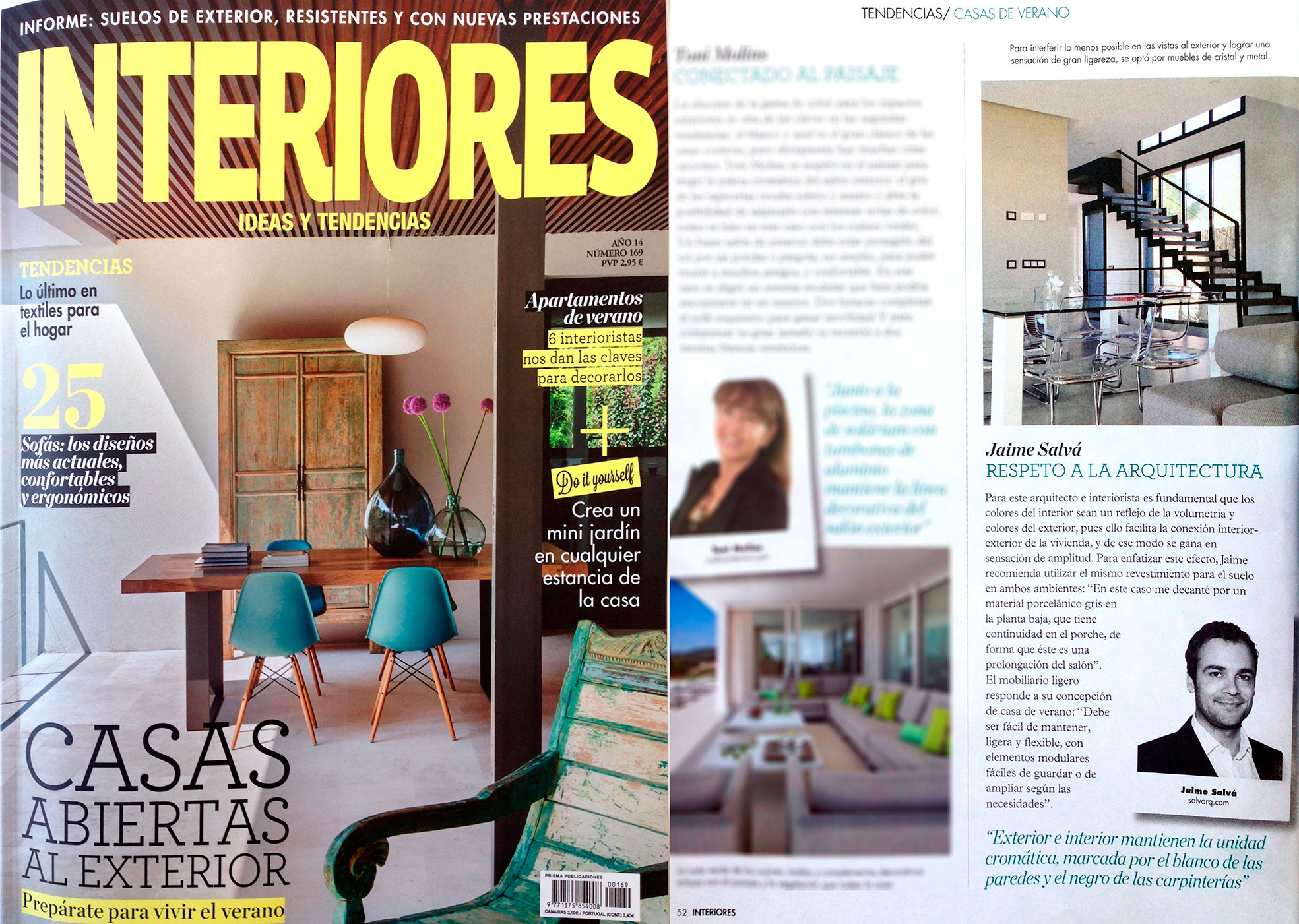 Revista de interiores con su nueva superficie ultrablanca for Revistas decoracion interiores