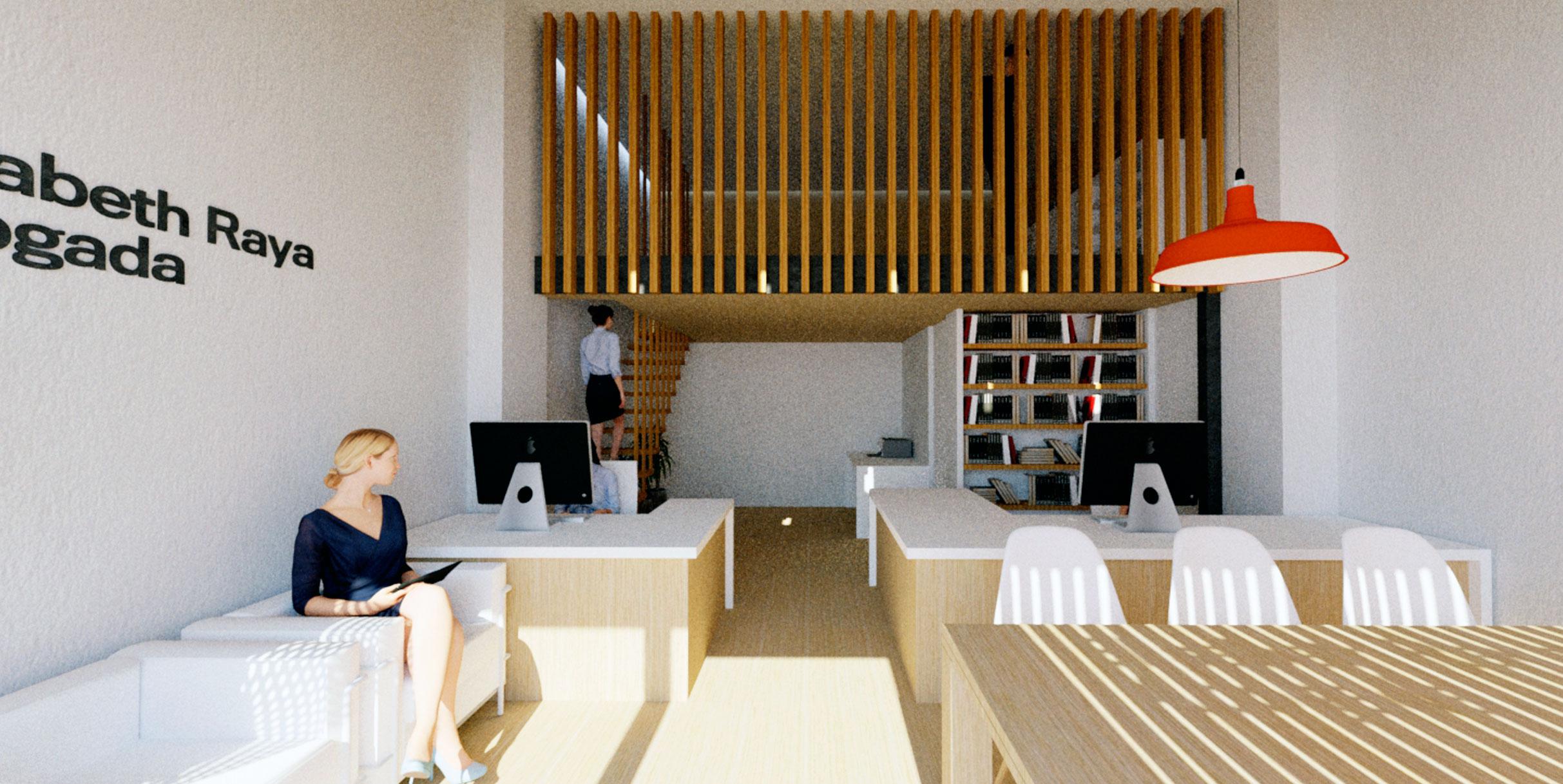 Jaime salv arquitectura interiorismo j542 despacho for Despacho arquitectura