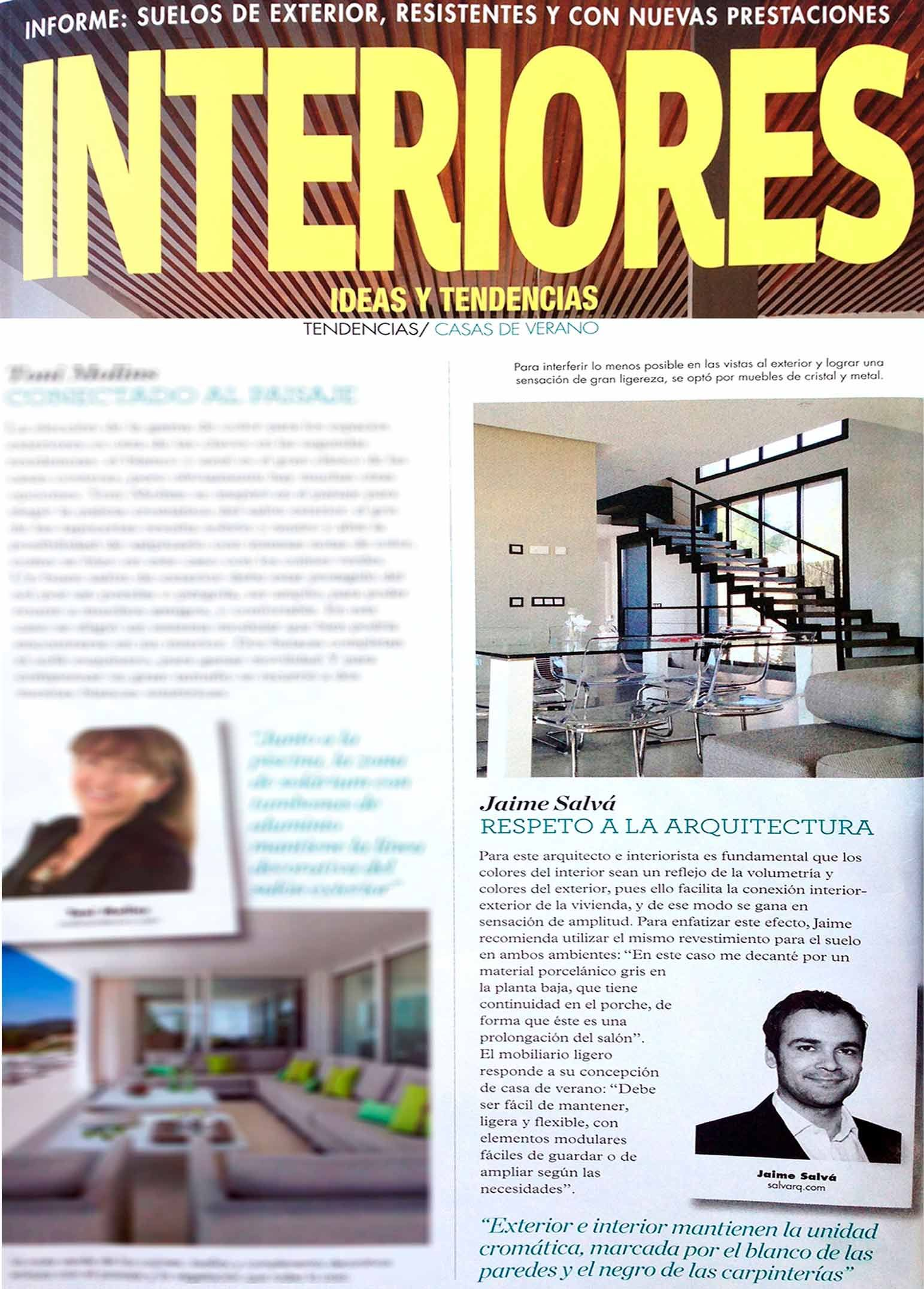 Incre ble revista de interiores de casas bandera ideas for Revistas decoracion interiores