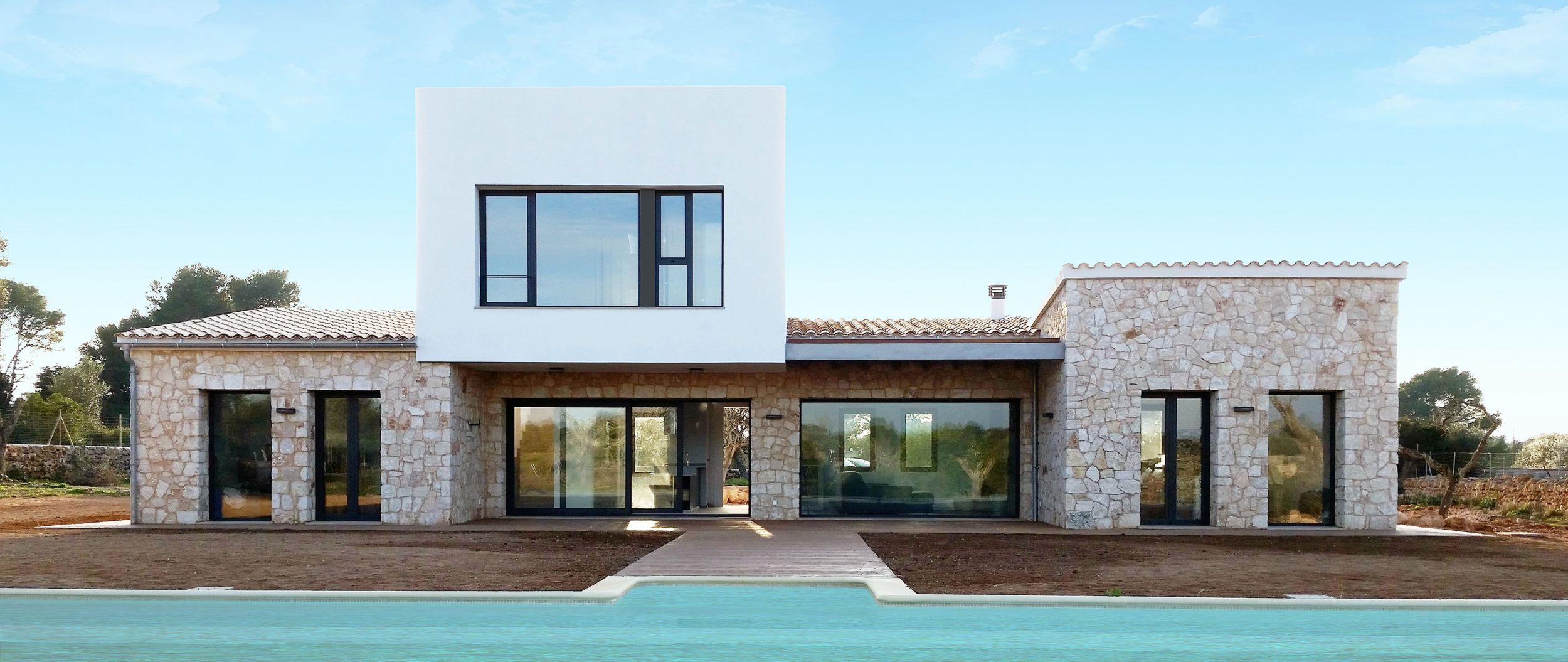 Jaime salv arquitectura interiorismo j273 casa rub n for Reformas de fachadas en palma